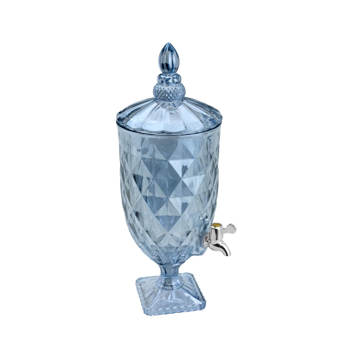 Suqueira De Cristal Ecológico Diamond Azul Metalizado 5l Lyor