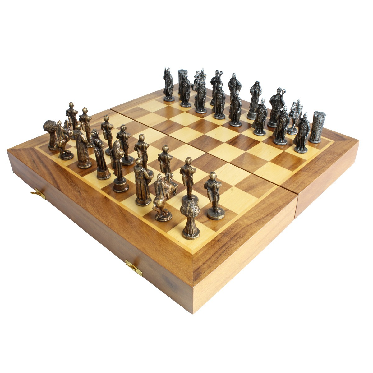 Tabuleiro de xadrez Luxo Hobin Hood vs Príncipe João I