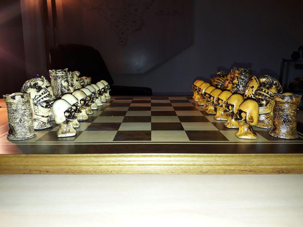 Tabuleiro de Xadrez Luxo Regal 32 Peças