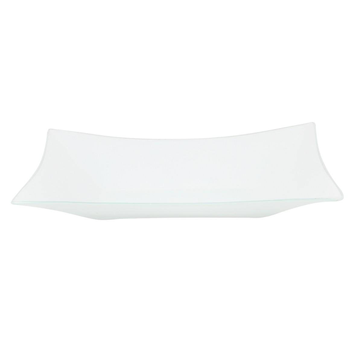 Travessa Retangular Branca Decor-Glass 32,5cm