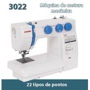 Máquina de Costura Mecânica Janome Modelo 3022/220v