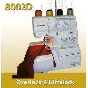Máquina de Costura Overlock 8002D  Janome