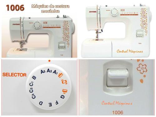 Máquina de costura 1006/220v Janome