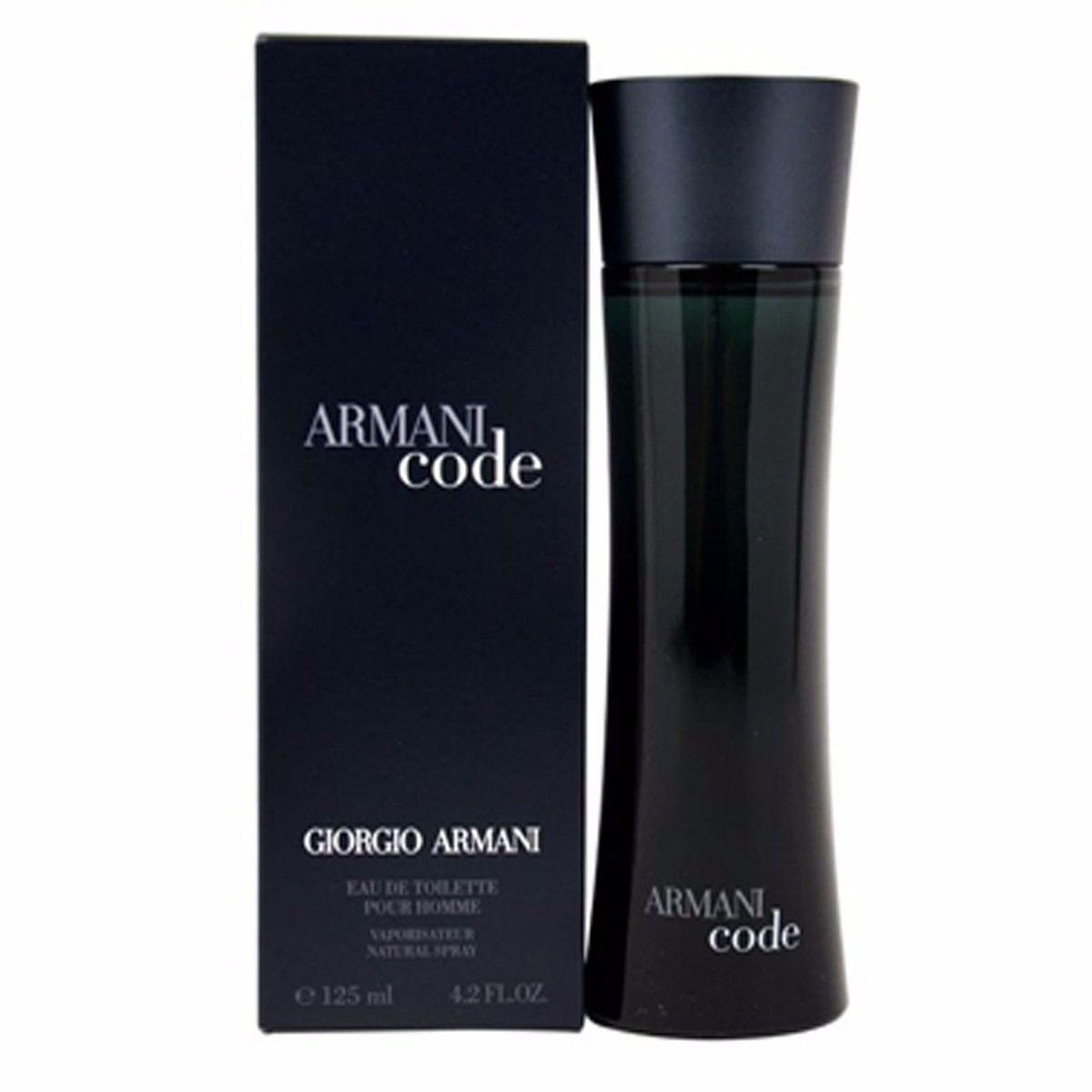 Armani Code Giorgio Armani Eau de Toilette - Perfume Masculino 125ml