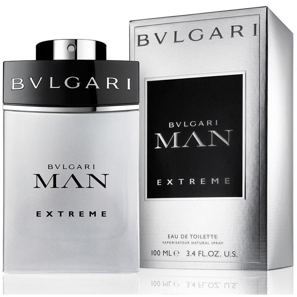 Bvlgari Man Extreme Eau de Toilette - Perfume Masculino 100 ml