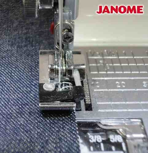 Calcador Para Acabamentos em Bordas e Ponto Tipo Overlock Janome
