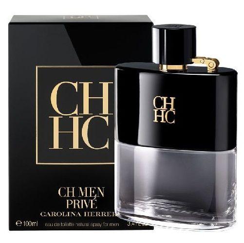CH Men Privé Carolina Herrera Eau de Toilette - Perfume Masculino 100 ml