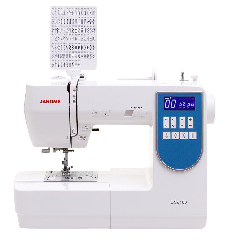 Maquina de Costura Eletrônica Janome DC 6100