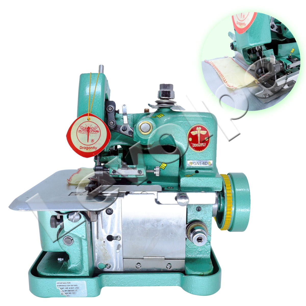MAQUINA COSTURA OVERLOCK BUTTERFLY GN1