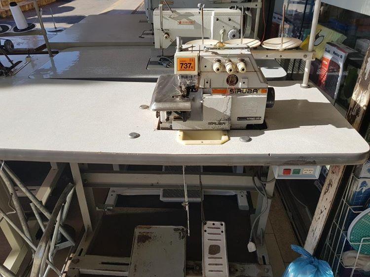 Maquina Costura Overlock Semi-Nova Siruba