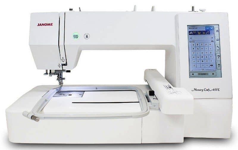 Maquina de Bordado Janome MC400e