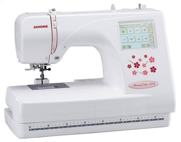 Máquina de Bordar MC370E Janome