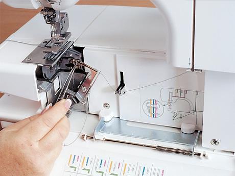 Máquina de Costura Doméstica Galoneira 1000CPX  Janome