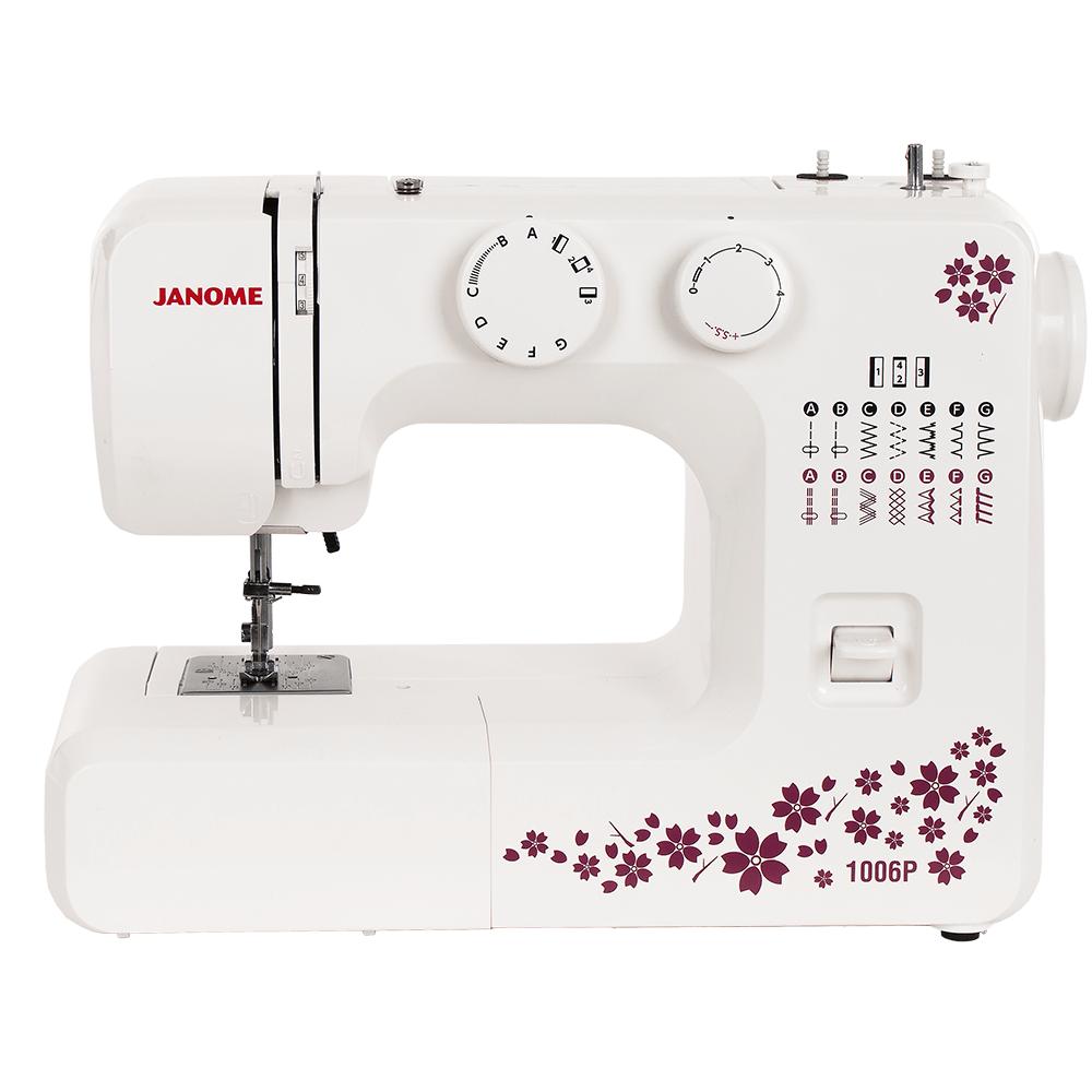 Máquina de Costura Domestica Janome 1006p 220v