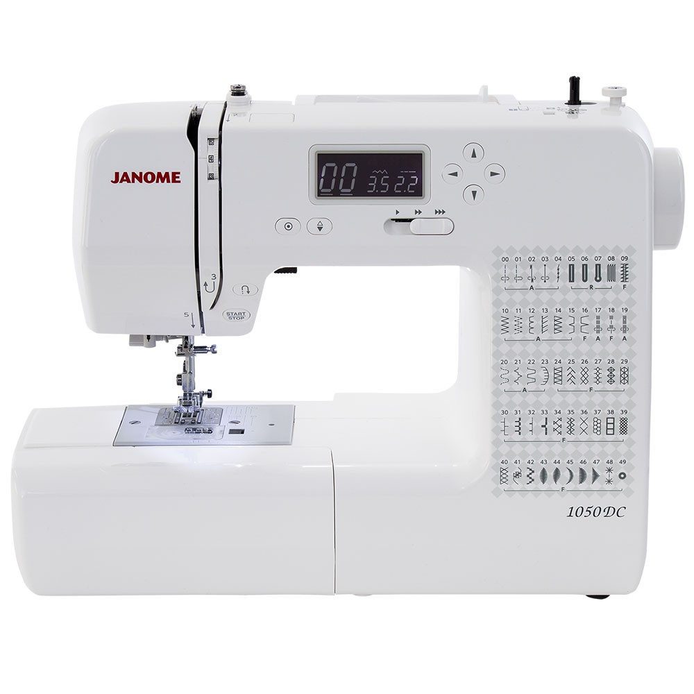 Máquina de Costura Doméstica JANOME 1050DC