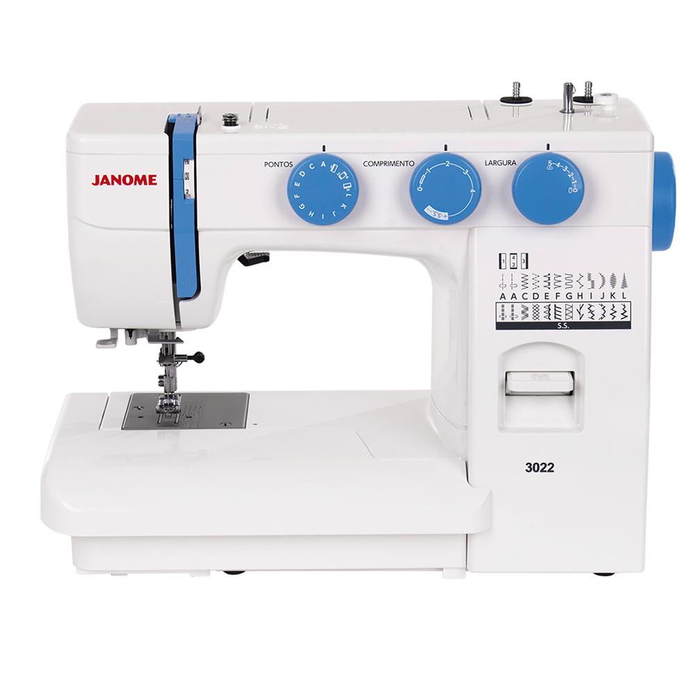 Máquina de Costura Doméstica JANOME 3022
