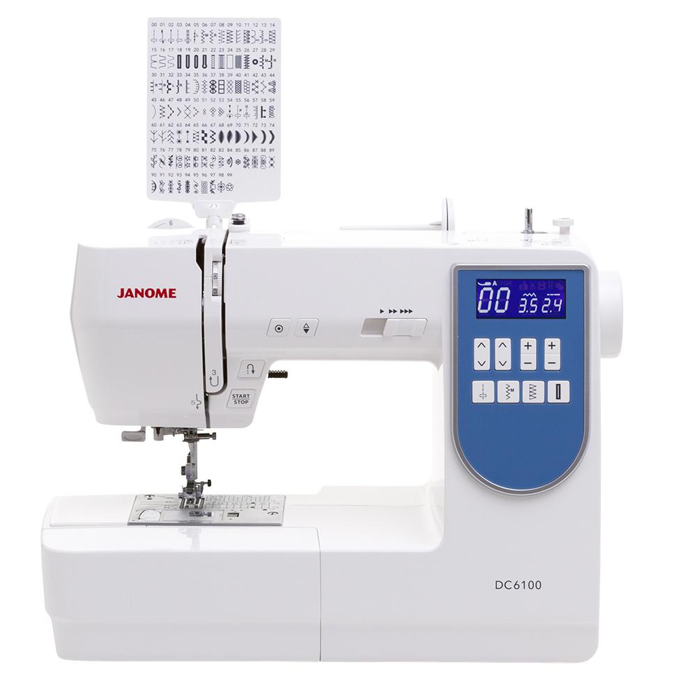 Máquina de Costura Doméstica Janome DC6100