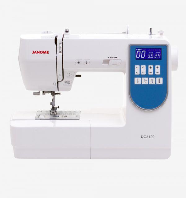 Máquina de Costura Doméstica JANOME DC6100 + Mesa Extensora