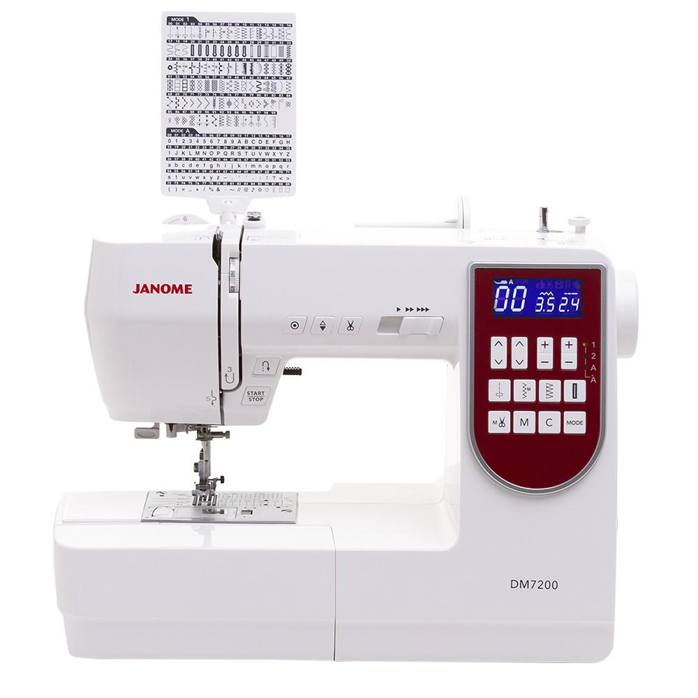 Máquina de Costura Doméstica JANOME DM7200