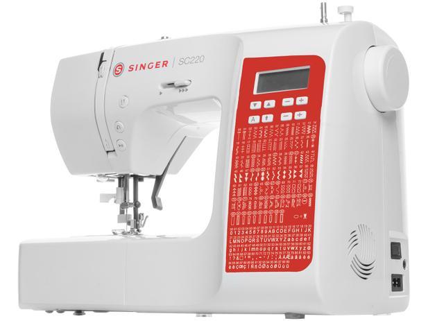 Máquina de Costura Doméstica Singer SC220RD Bivolt