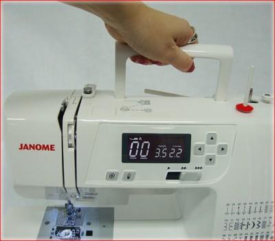 Máquina de Costura  Eletrônica  2030QDC  Janome