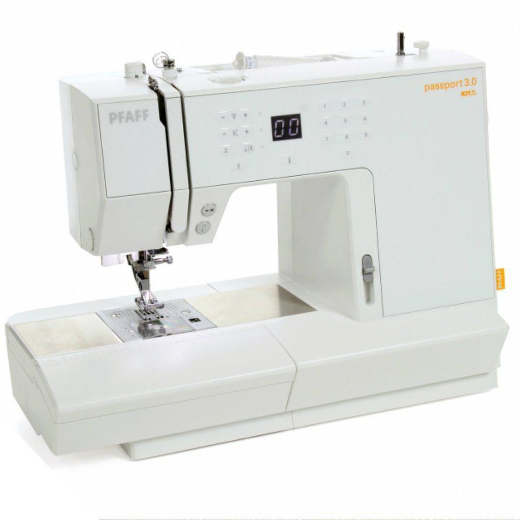 Máquina De Costura Eletrônica Pfaff Passport 3.0
