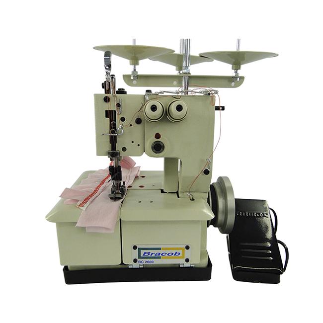 Máquina de Costura Galoneira Portatil BC2600-3P Bracob Voltagem:220v