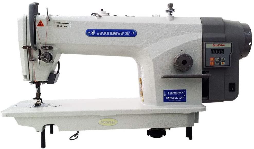Maquina de Costura Industrial Reta  Lanmax LM-9950D (220V) COMPLETA (M)