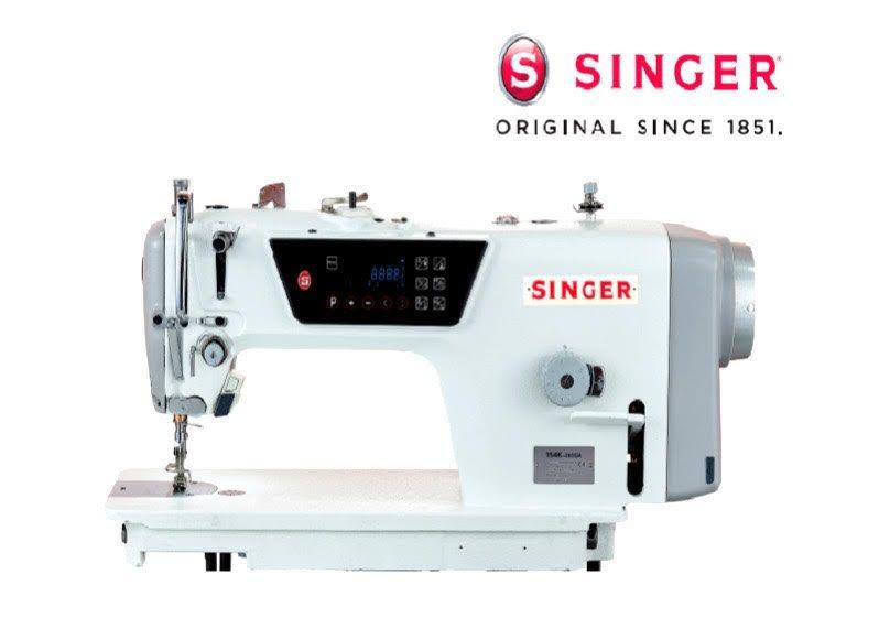 Maquina de Costura Industrial Reta Singer 154K + Mesa