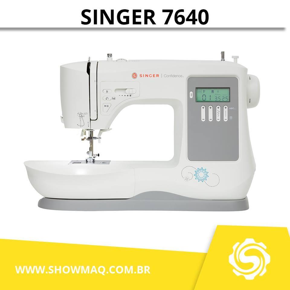 Máquina De Costura Singer Confidence 7640 Auto Volt