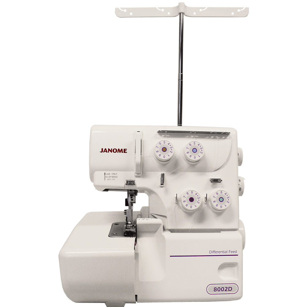 Máquina de Costura Ultralock e Overlock JANOME 8002D 220V