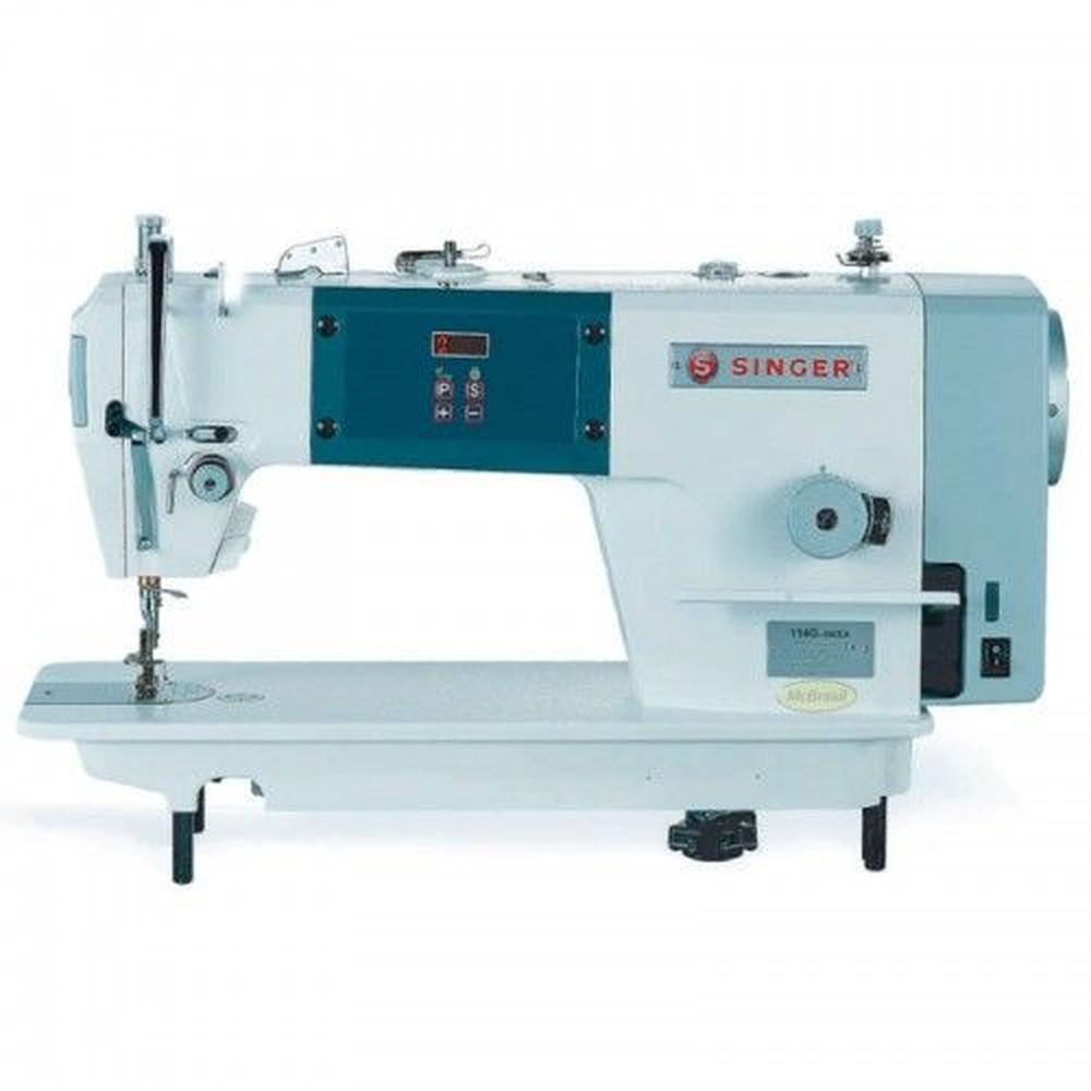 Maquina Industrial de Costura Reta Singer 114g S/ Corte de Linha