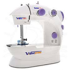 Mini maquina de costura westpress 202