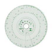 10 DISCOS DE TACÓGRAFO SEMANAL VCO 7 DIAS (125KM)
