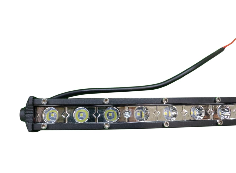 FAROL DE MILHA BARRA LED 18 LEDS BIVOLT 54W - BRIWAX