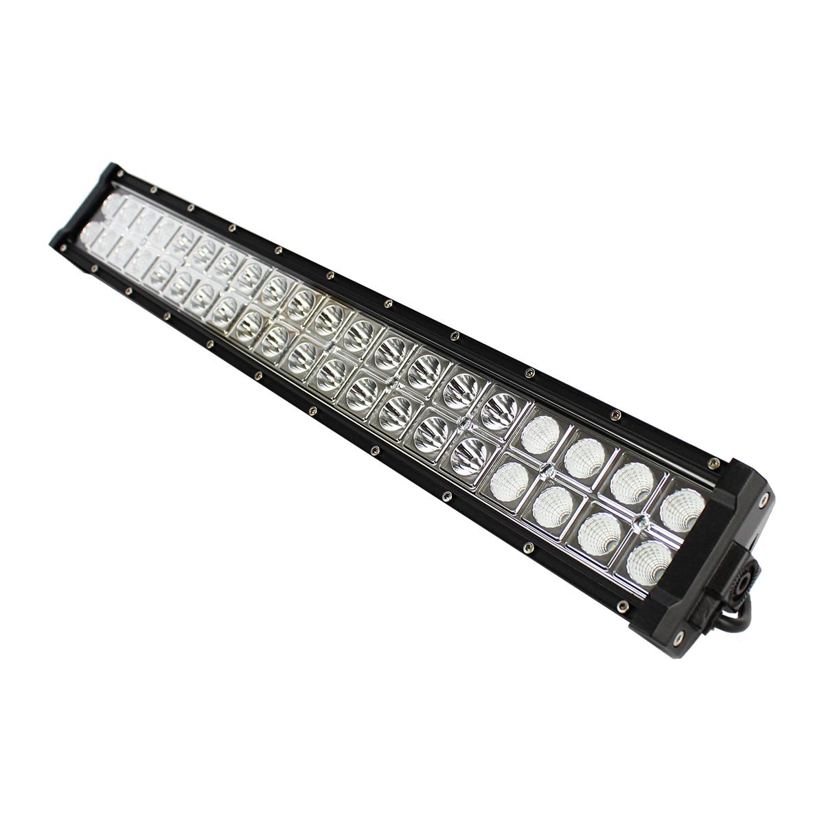 FAROL DE MILHA BARRA LED 40 LEDS BIVOLT 120W - JP2