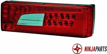 LANTERNA TRASEIRA LED SCANIA S5 13/ STREAMLINE - IMPORTADO