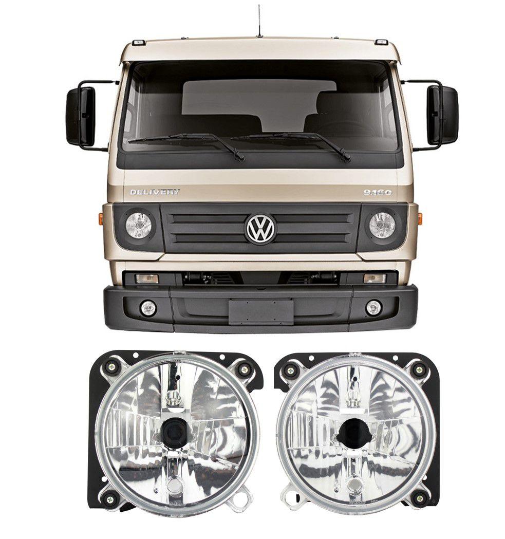 Par Farol H4 VW Volks Delivery 5-140 8-150 8-160 9-150 9-160