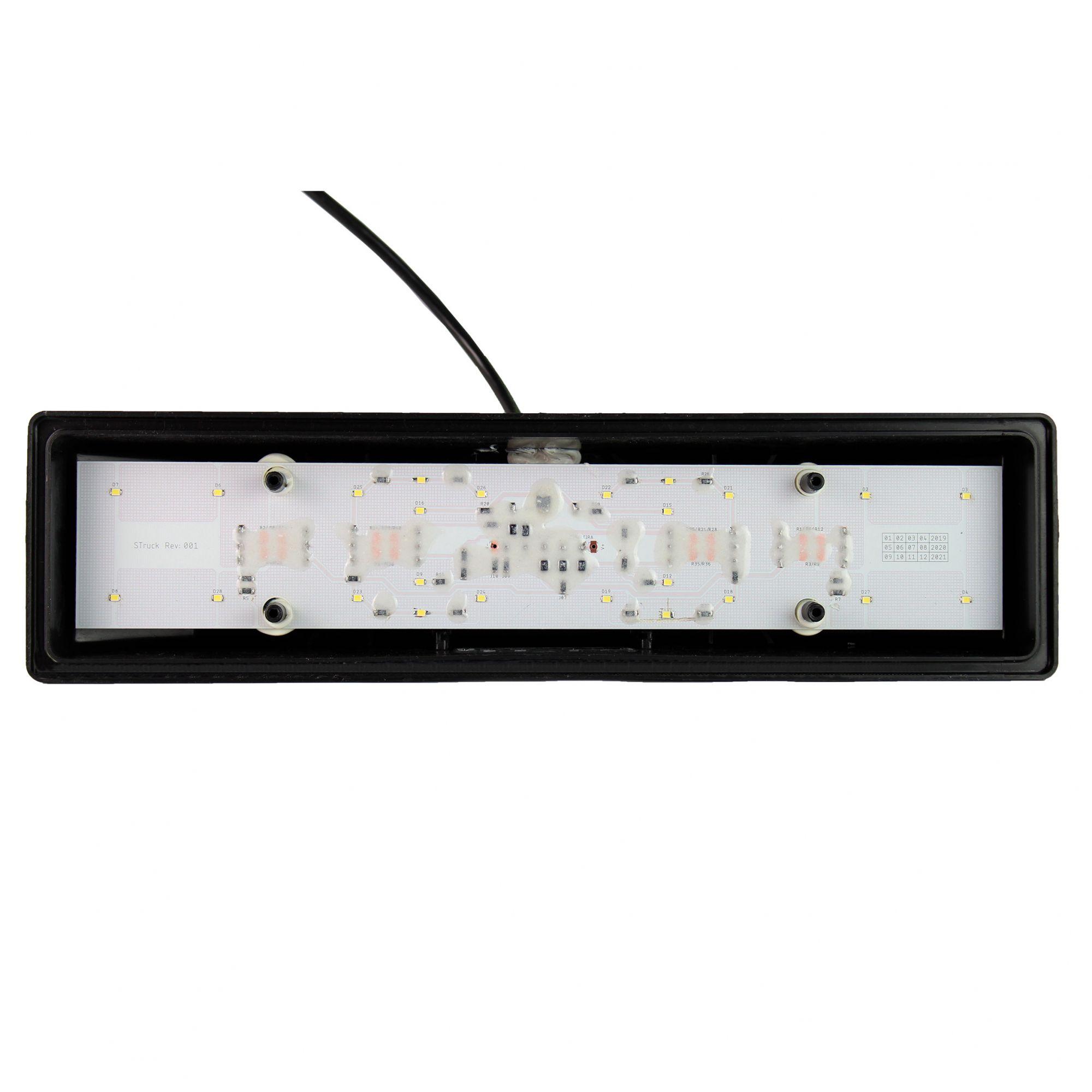 PAR LANTERNA TRASEIRA LED MB 88/ - SINBRAX/PRADO - 12V/24V