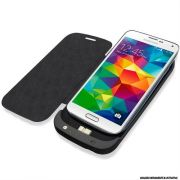 Case Com Bateria 3200 Samsung Galaxy S5 Preto Bo36