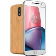 "Smartphone Moto G 4 Plus Dual Chip Android 6.0 Tela 5,5"" 32GB 4G Câmera 16MP - Bambu"