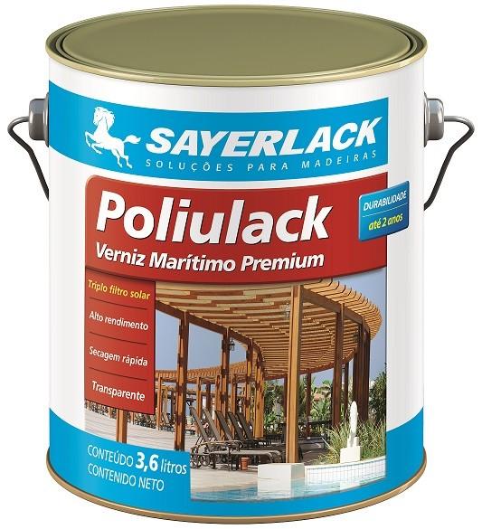 Verniz Poliulack 3,6L  - Madeireira Ribeirão Preto