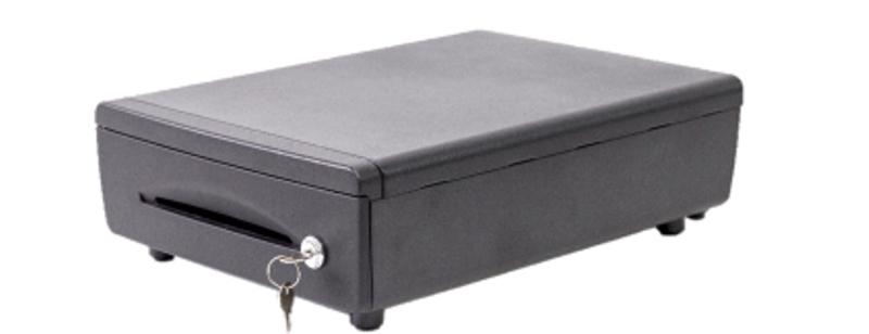 Gaveta de Dinheiro compacta BEMATECH modelo GD-36 conector padrão rj11  - Loja Campinas WCOM Soluções