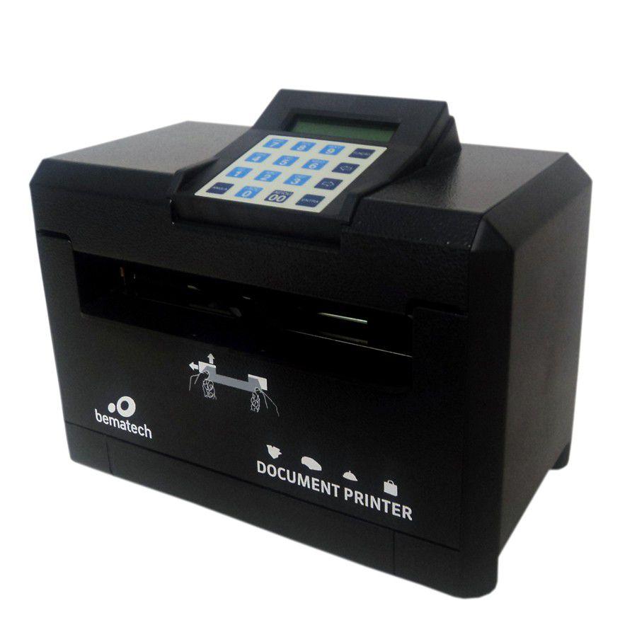 Impressora de cheque modelo DP20 Bematech  - Loja Campinas WCOM Soluções