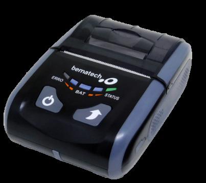 Impressora de Cupom Portátil Bematech modelo PP 10 - Bluetooth   - Loja Campinas WCOM Soluções