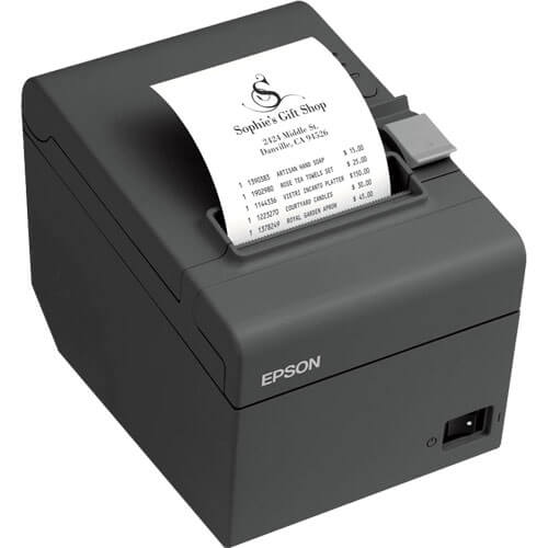 Impressora térmica Epson modelo TMT-20X SERIAL/USB / GUILHOTINA  - Loja Campinas WCOM Soluções