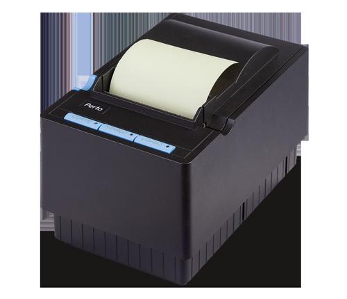 Impressora térmica PertoPrinter modelo 3ª geração USB e SERIAL / GUILHOTINA   - Loja Campinas WCOM Soluções