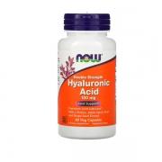 Ácido Hialurônico  Composto- NOW - 100mg - 60 cápsulas  -  Hyaluronic Acid
