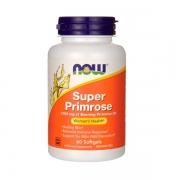 Super Óleo de Prímula 1300 mg 60 softgels Now Super Primrose