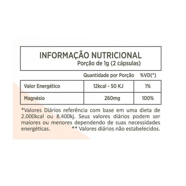 Cloreto de Magnésio PA  500mg - Nutrivale Natural